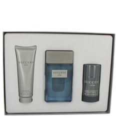 Gift Set -- 3.4 oz Eau De Toilette Spray + 2.5 oz Alcohol Free Deodorant Stick + 3 oz Shower Gel