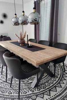 Home Living Room, Interior Design Living Room, Living Room Decor, Dining Room Inspiration, Home Decor Inspiration, Dining Room Design, Dining Room Table, Luxury Dining Room, Dining Rooms