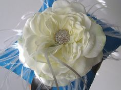 Wedding Ring Pillow Ring Bearer Pillow by LaceyClaireDesigns, $49.00