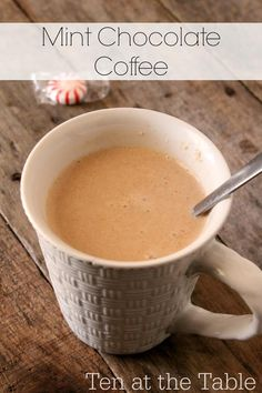 how to make york peppermint patty coffee creamer