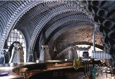 Stunning HR Giger Bar: the Alien Skeleton Bar in Switzerland