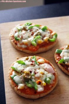 Easy Coin Pizza on gas stove - breakfast recipes for kids |