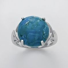 #Kohls                    #ring                     #Silver #Plate #Turquoise #Ring                     Silver Plate Turquoise Ring                                                   http://www.seapai.com/product.aspx?PID=43415