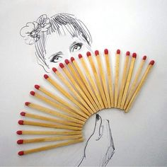 matches nd fire in eyes