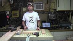 Make a Screen Printing Press Part 1
