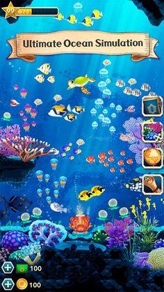 Splash-Underwater-Sanctuary-—-скачать-на-Андроид Different Fish, Angel Fish, Gift Exchange, Level Up, Marine Life, Underwater, Special Events, Real Life, Exotic