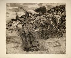 Peasants' War - Kathe Kollwitz