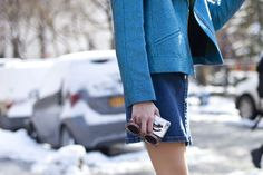 Winter Street Style From Fashion Week   StyleCaster