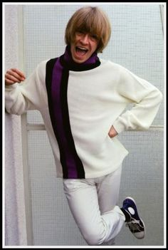 The always fashionable Brian Jones