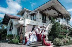 An Elegant Filipiniana Wedding with a Deep Burgundy Theme Miami Wedding, Wedding Goals, Luxury Wedding, Dream Wedding, Wedding Dreams, Wedding Blog, Wedding Decor, Black And Burgundy Suit, Deep Burgundy