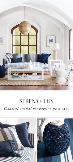 Coastal. Casual. Classic. Chic. Sophisticated looks inspired by the sea. Find your spot in the sun today.