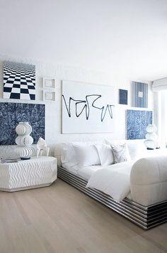 Malibu Bedroom #kellywearstler #interior #design
