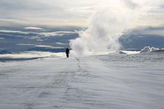 Iceland krafla Volcano