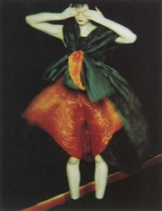 ratak-monodosico: Sarah Moon, Teresa Stewart for Issey Miyake, 1995 Via jfei. More Sarah Moon. Sarah Moon, Moon Photography, Editorial Photography, Fashion Photography, Guy Bourdin, Moon Photos, Moon Pics, Paolo Roversi, French Photographers