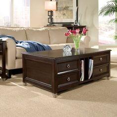 Darby Home Co Kelch Lift Top Coffee Table With Storage En 2021 Mesa De Centro Madera Centros De Mesa Decoración De Unas