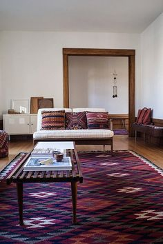 Kilims absolutely rank among my favorite rugs.
