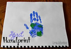 Handprint Calendar + 15 Homemade Gift Ideas Kids Can Make