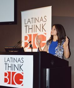 """""""We must remind our employers that being Latina is not negotiable."""" Monica Gil, VP of Communications at Nielsen & #LATINASTHINKBIG Honoree"""