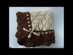 """COMO HACER MANTA RAPIDA Y FACIL A CROCHET SIN COSER """"crochet blanket for beginners"""" - YouTube"""