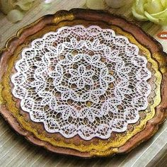 VK is the largest European social network with more than 100 million active users. Crochet Doilies, Decorative Plates, Tableware, Desserts, Handmade, Food, Wall Photos, Community, Coasters