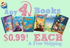 Grab the kids this deal get (4) books for $.99 each!! Plus Free Shipping. . Click link in my bio @tomorrowsmom -read . This is an intro offer that you may cancel any time 100% satisfaction guaranteed and easy canceling process.  Fast Link:Type this link on your browser: http://tmget.info/4disneybook  or follow the link in my Bio a@Tomorrowsmom at TomorrowsMom.com #tomorrowsmom . #holidays #christmas #gifts #frugal #savings #deals #cosmicmothers #feminineenergy #loa #organic #fitmom…
