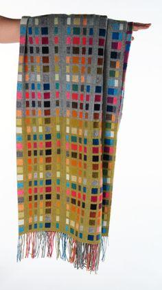 Holly Berry - Morse Code Weaving