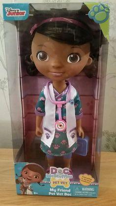 Doc McStuffins My Friend Pet Vet Doc Doll  £29.99 NOW £21.49 REDUCED BOX DAMAGE