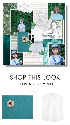 """""""Nine Muses - Keumjo & Sojin"""" by kairimikio ❤ liked on Polyvore featuring Color Me, Chilewich, Monki and Topshop"""