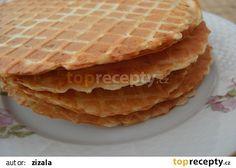 Brynzové oplatky recept - TopRecepty.cz Treats, Cooking, Ethnic Recipes, Food, Bakken, Sweet Like Candy, Kitchen, Goodies, Essen