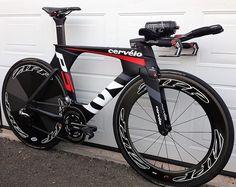 Ready to race Cervelo P5 with Zipp Speed Weaponry 808/Disc and SRAM Red eTap TT - Darrin Misiera @TriathlonBadBoy #Cervelo #ZippSpeedWeaponry #SRAMRed #TriBike #Triathlon #TriathlonBadBoy