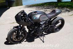 BMW R nineT Umbau Halbschale