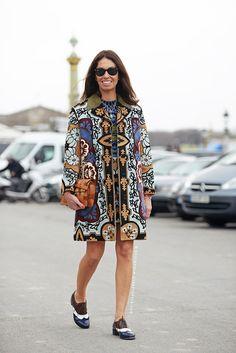 ace print. Vivs in Paris. #VivianaVolpicella