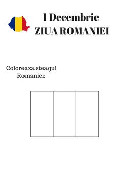 Romania for Kids - Coloring pages - The Adventures of Kiara Yew 1 Decembrie, Baby Play, Coloring Pages For Kids, Elementary Schools, Diy And Crafts, Kindergarten, Homeschool, Adventure, Day