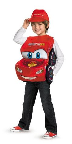 cars 2 lightning mcqueen costume deluxe one size reviews