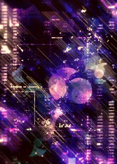 RETRO BUBBLES by atelier olschinsky , via Behance