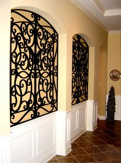 29 best Wall Niche Decor Ideas images on Pinterest   Niche decor     Tableaux     Faux Iron and Veneer decorative grilles allow for unlimited  options for wall niche decor  Personalize niches or any residential wall  space with