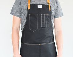 No. 325 Y-Strap Artisan Apron in Rust Wax & Brown by ArtifactBags