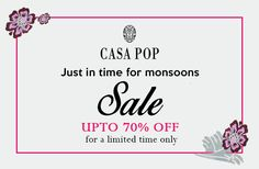 There's nothing we love more than a great sale! Get upto off on everything, only at Select Citywalk, Saket, Delhi. Let's shop today! Fashion Sale, Fashion Brand, Luxury Home Decor, Luxury Homes, Casa Pop, End Of Season Sale, Monsoon, Accent Decor, Style Inspiration