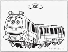 chuggington coloring pages emerychuggington coloring pages