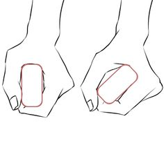 イラストポーズ集】四角く細いもの(刀や剣)を握る手 | 面倒くさがりな ... hand and sword