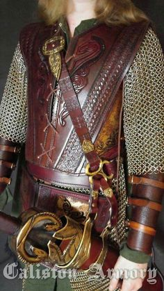 EOWYN'S ARMOR, LOTR, From Caliston Armory, -- for upcoming Salt Lake City Comic-Con 2015