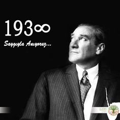 Ulu Önder Mustafa Kemal Atatürk'ü saygıyla anıyoruz. 10.11.193∞ #MustafaKemal Atatürk #10Kasım