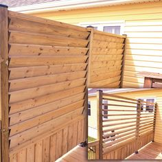 Privacy Wall On Deck, Privacy Screen Outdoor, Deck Privacy Screens, Deck Shade, Patio Plans, Pool Deck Plans, Backyard Buildings, Backyard Patio Designs, Deck Landscaping