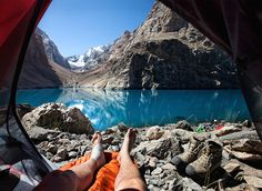 Morning Views From A Tent – Fubiz™