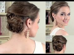 Classic Side Updo - What I Wore to the Indashio Show