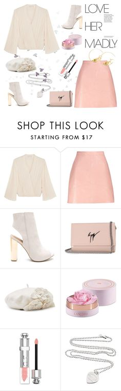 """""""Love her dearly"""" by lynksmichelle ❤ liked on Polyvore featuring Alice + Olivia, Giuseppe Zanotti, Betmar, Lancôme, Christian Dior, Tiffany & Co., Tory Burch, CasualChic, women and contestentry"""