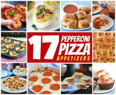 17 Creative Pepperoni Pizza Appetizers