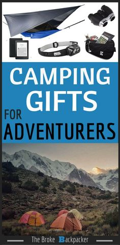 Camping Gifts for travelers