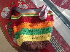 Ravelry: The Vee Bag pattern by Fiona Hawke Ice Cotton, Chevron Purse, Yarn Cake, Woolen Mills, Market Bag, Ravelry, Straw Bag, Stripes, Tote Bag