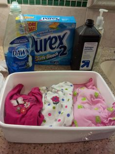 Remove Stains From Baby Clothes It Doesn T Matter How Long The